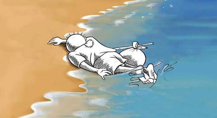 Niño en la playa 15