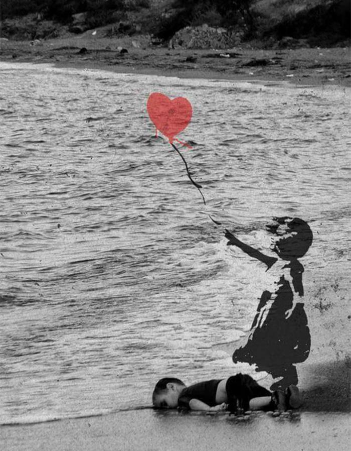 Niño en la playa 17