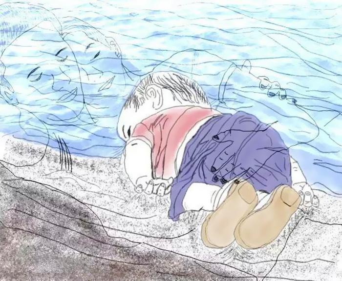 Niño en la playa 20