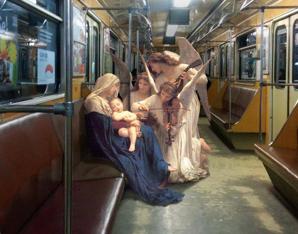 Renacimiento en metro de kiev 4