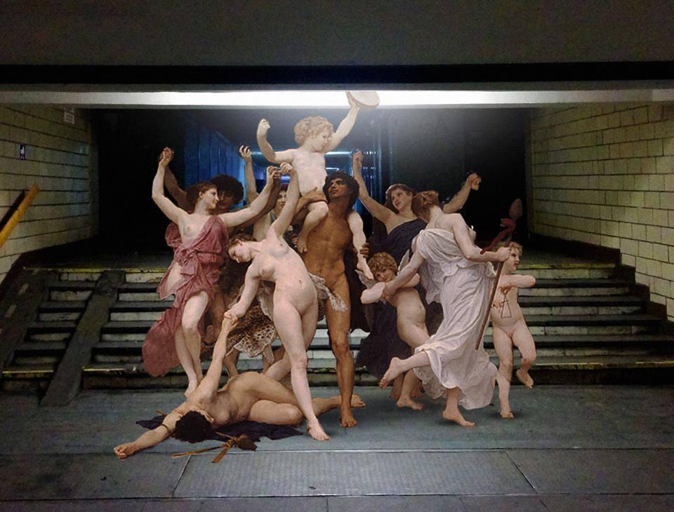 Renacimiento en metro de kiev 5